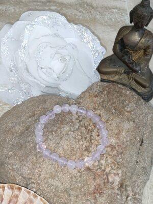 Bracelet Améthyste lavande