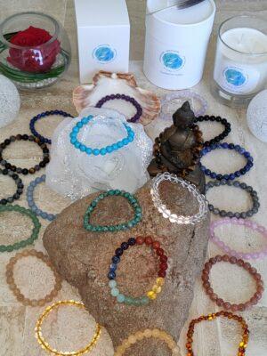 Collection Gamme Shakti - Bracelets par Chakras